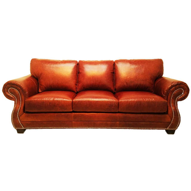 Rivers Leather Queen Size Sleeper Sofa