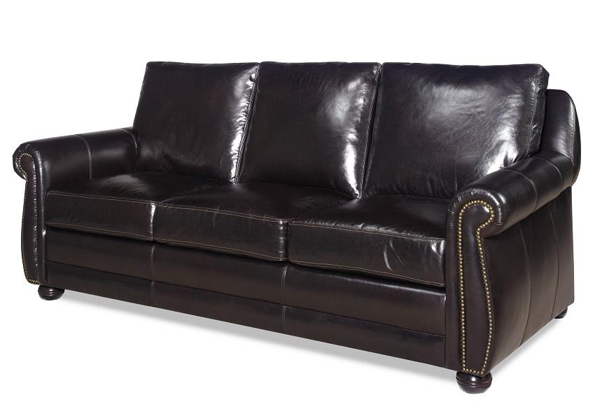 Chapman Leather Queen Size Sofa Sleeper