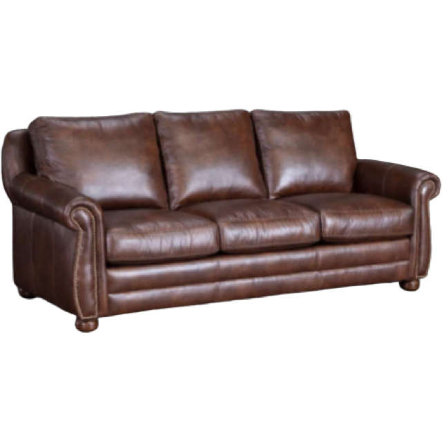 Chapman Leather Queen Size Sofa Sleeper