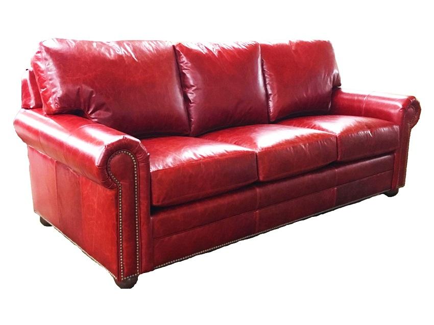 Ritz Leather Queen Size Sofa Sleeper