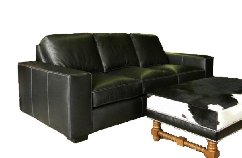 Chesapeake Leather Queen Size Sofa Sleeper