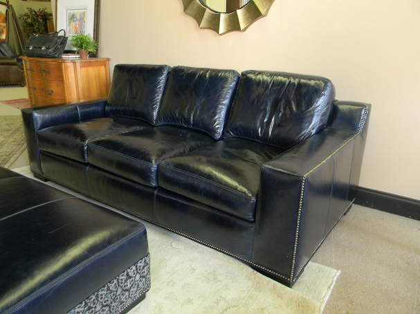 Teddy Leather Queen Size Sofa Sleeper