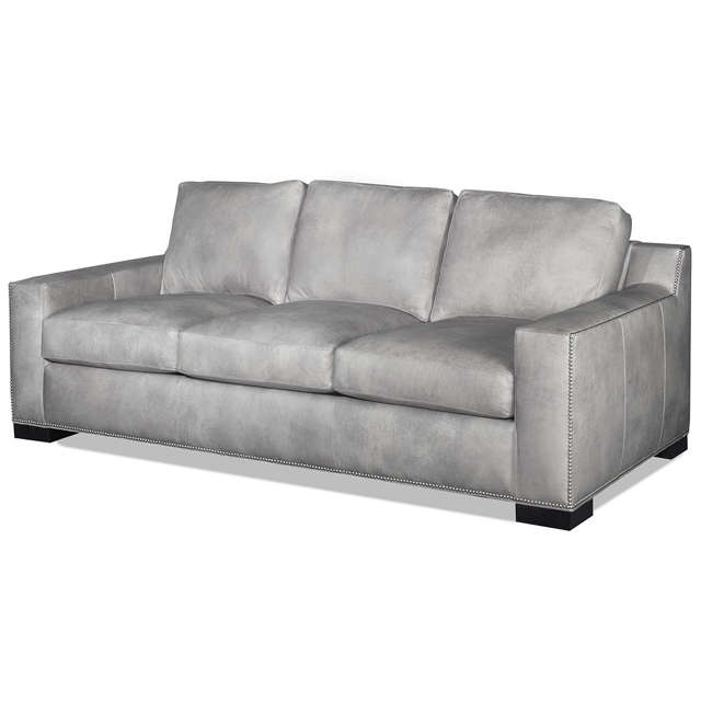 Teddy Leather Loveseat - Made in America