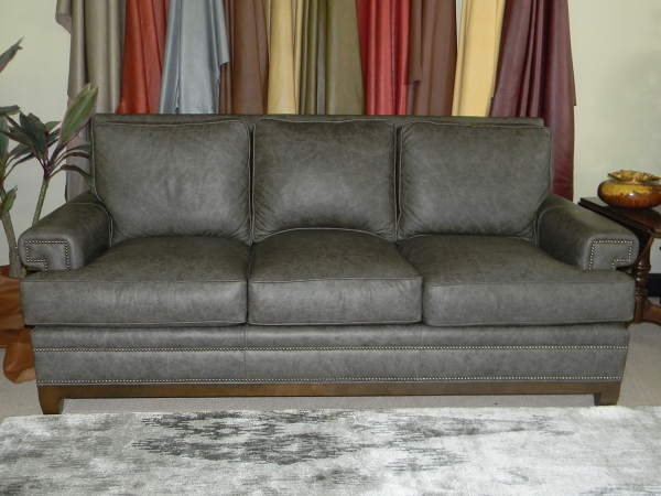 Pippin Leather Queen Size Sofa Sleeper