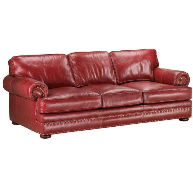 Greystone Leather Loveseat