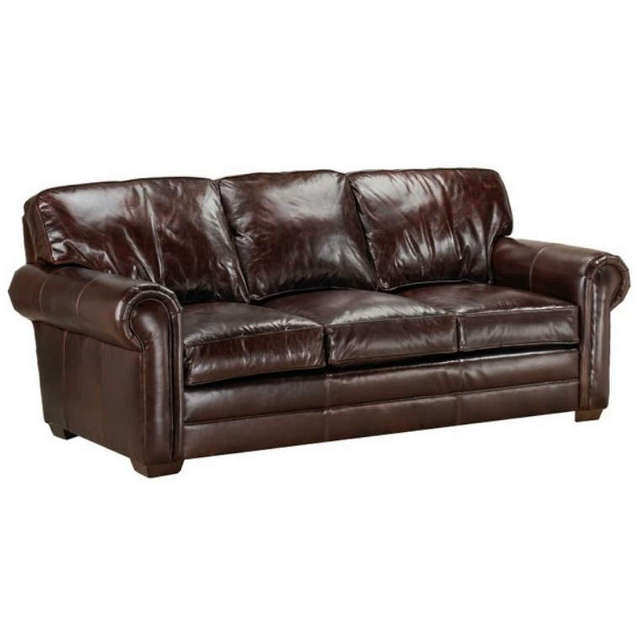 Kahne Leather Queen Size Sofa Sleeper