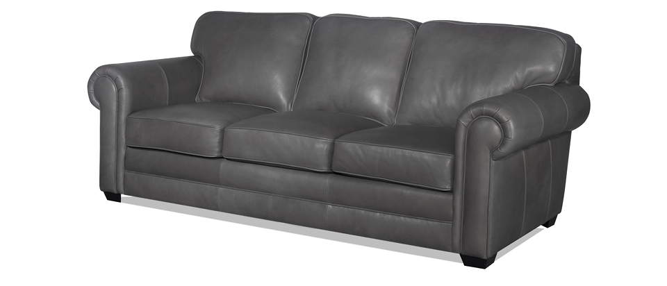 Isenhour Leather Queen Size Sofa Sleeper