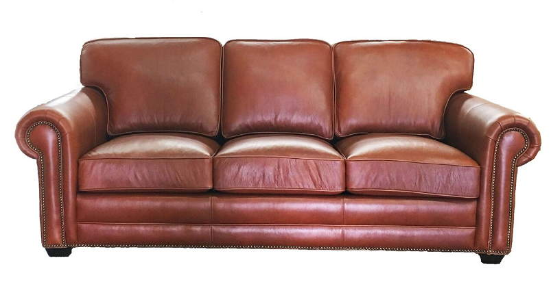 Isenhour Leather Queen Size Sofa Sleeper