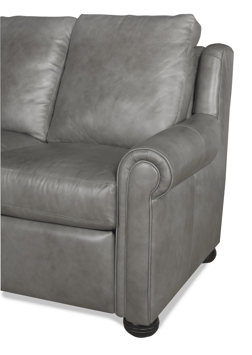 Newport Leather Power Reclining Sofa