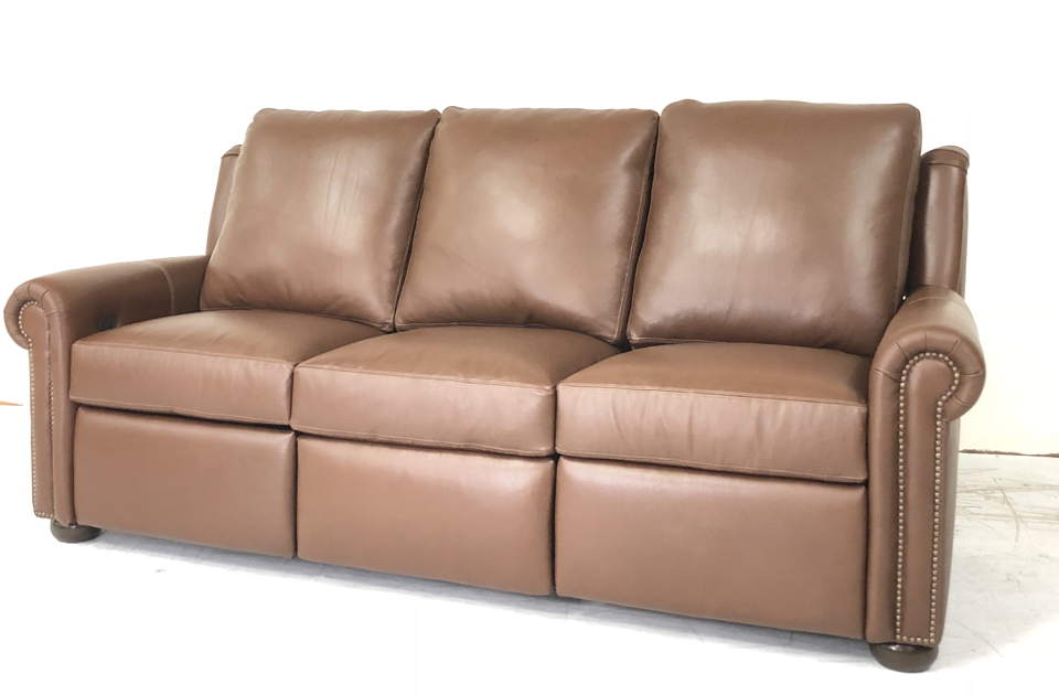 Sherwood Leather Power Reclining Sofa