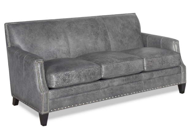 Mills Leather Queen Size Sofa Sleeper