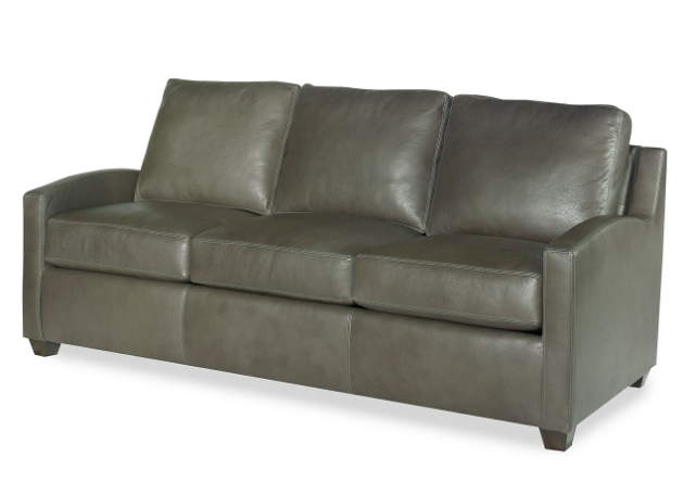 Canterbury Leather Queen Size Sofa Sleeper