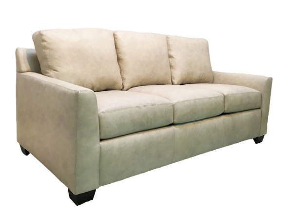 Peters Leather Queen Size Sofa Sleeper