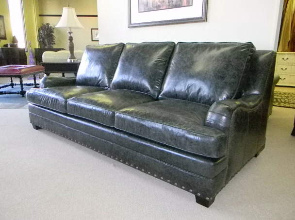 Johns Leather Loveseat