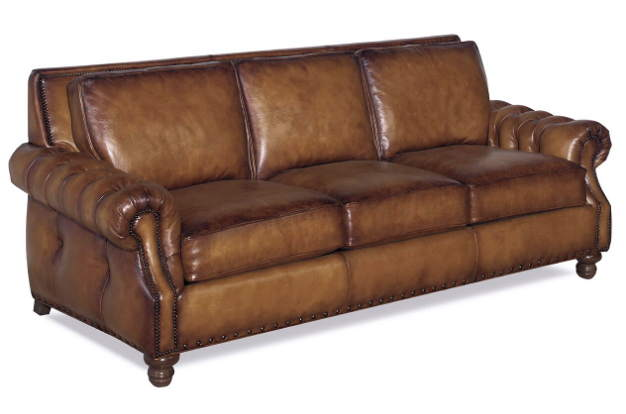 Beverly Leather Loveseat