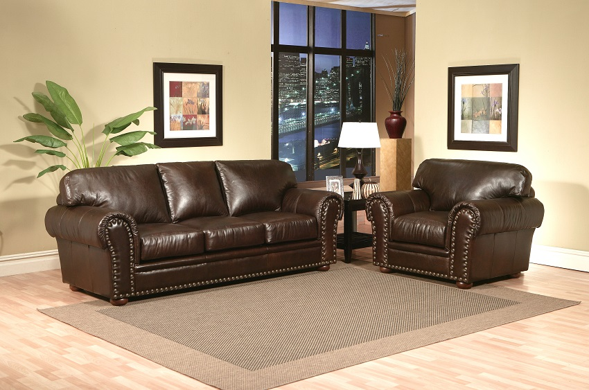 Beaumont Leather Queen Sofa Sleeper