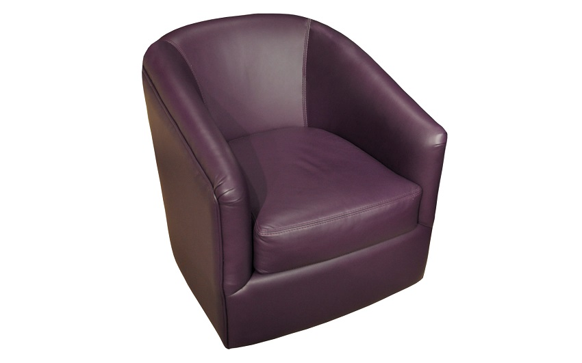 Bella Leather Swivel Chair
