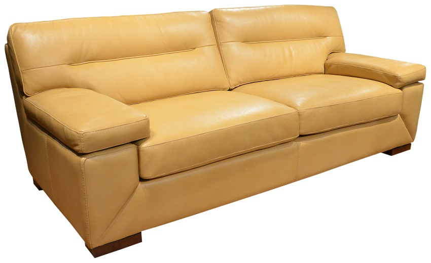 Biloxi Leather Loveseat