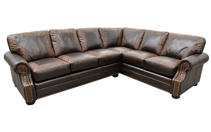 Bennett Leather Sectional