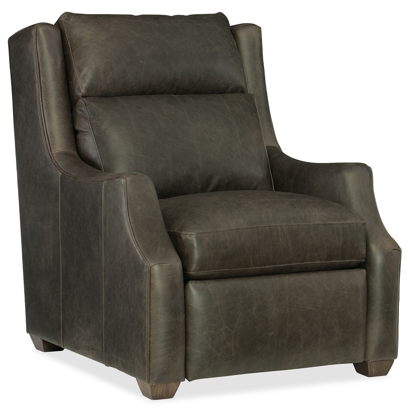 Conover Leather Power Recliner With Articulating Headrest