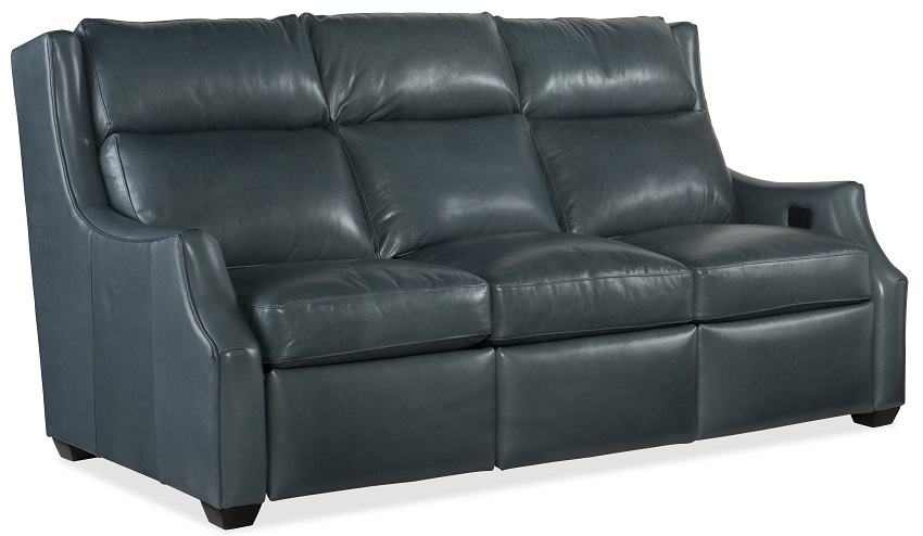 Conover  Leather Power Reclining Sofa With Articulating Headrest