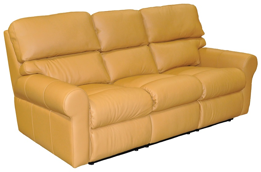 Brookhaven Leather Reclining Sofa