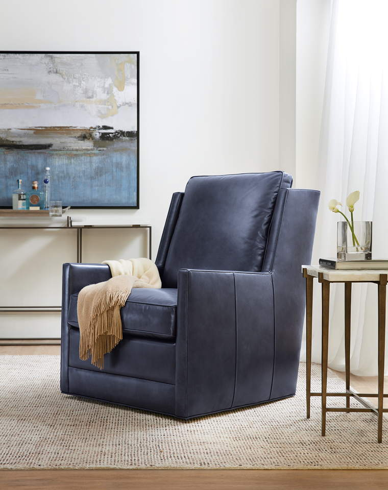 Terrific Keever Leather Swivel Chair Unemploymentrelief Wooden Chair Designs For Living Room Unemploymentrelieforg