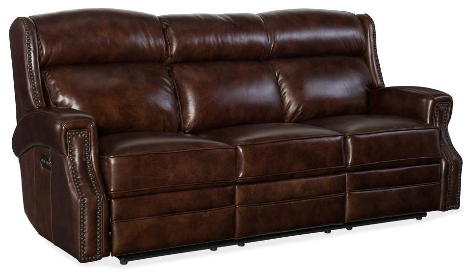 Peachy Skylar Leather Power Reclining Sofa With Articulating Headrest Gmtry Best Dining Table And Chair Ideas Images Gmtryco