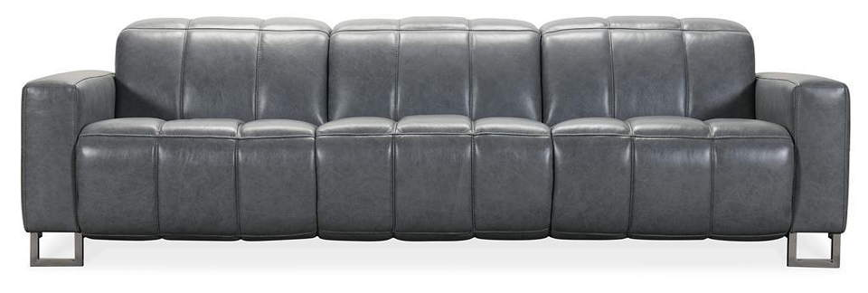 Brooke Leather Power Reclining Sofa With Articulating Headrest