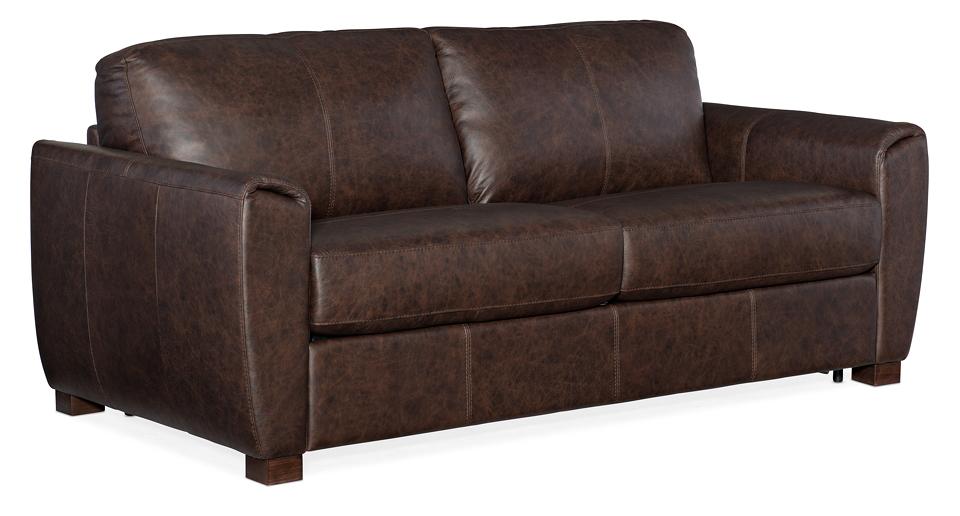 Torrington Leather Loveseat Sleeper