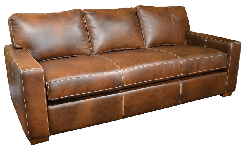 Carlsbad Leather Loveseat