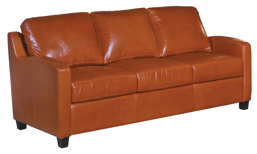 Chelsea Deco Leather Sofa