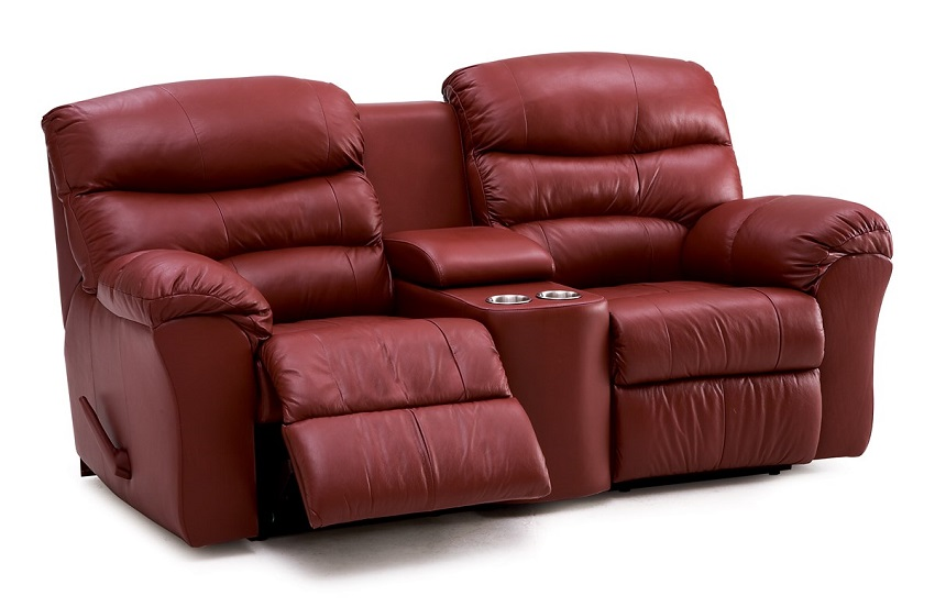 Durant Leather Theater Seating
