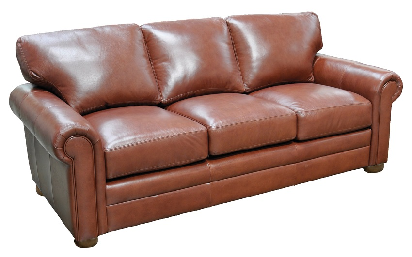 Georgia Leather Loveseat