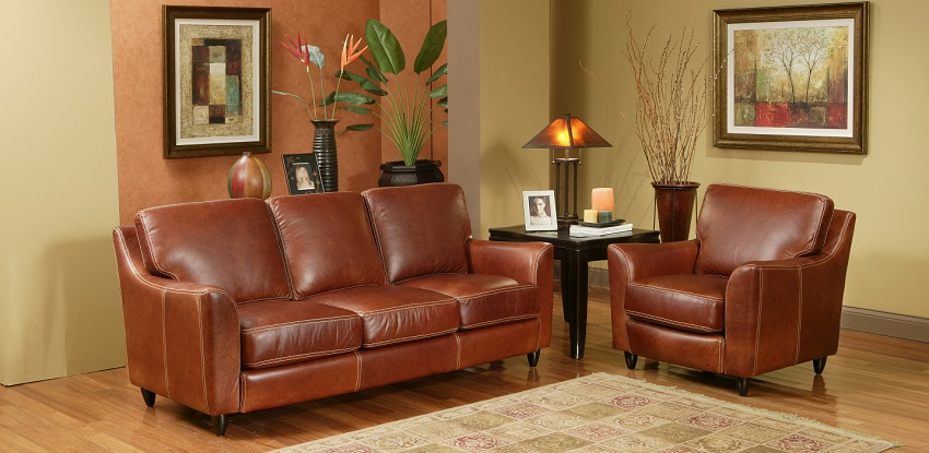 Great Texas Leather Loveseat