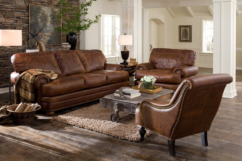 Leather Sleeper Sofas: Houston Leather Queen Size Sofa Sleeper