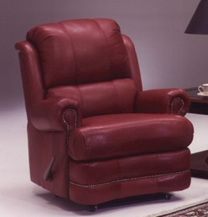 Morgan Leather Power Lift Recliner