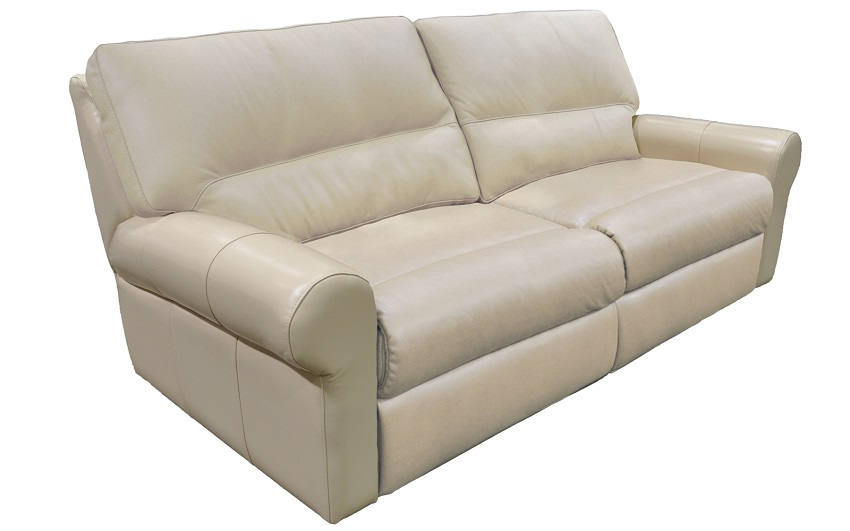 Bedford Leather Reclining Sofa