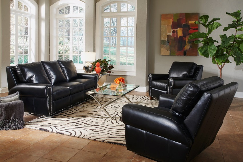 Dakota Leather Reclining Sofa