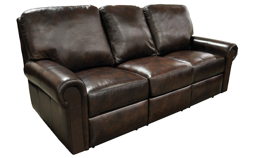 Fairbanks Leather Reclining Sofa