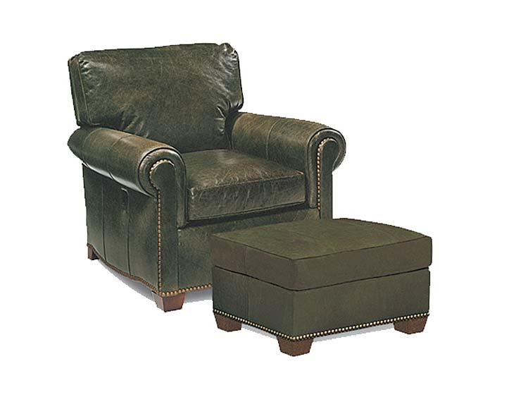 Strange Robinson Tilt Back Leather Chair Ottoman Dailytribune Chair Design For Home Dailytribuneorg