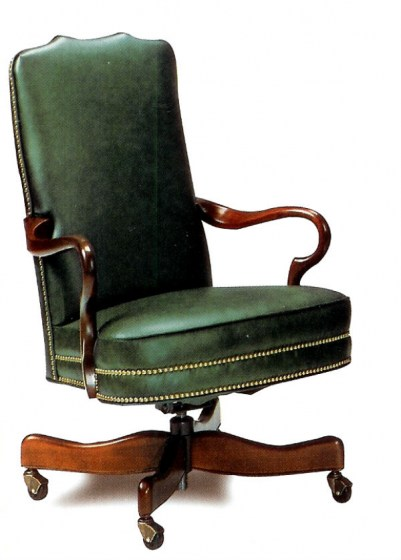 Leather Office Furniture Swift Leather Swivel Tilt Chair