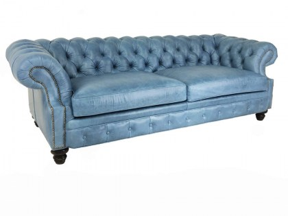 Barlow Leather Chesterfield Sofa