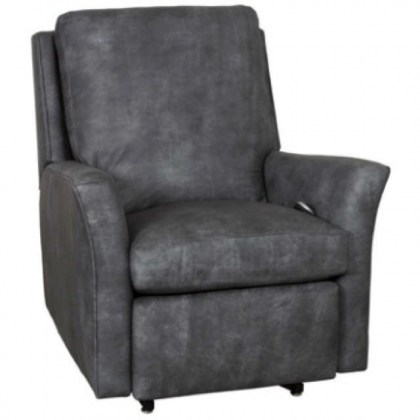 Stephanie Leather Swivel Glider Recliner