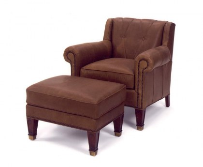 Cleo Leather Chair