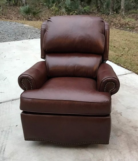 Troy Leather Recliner