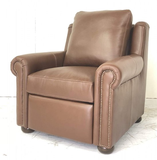 Sherwood Leather Power Recliner