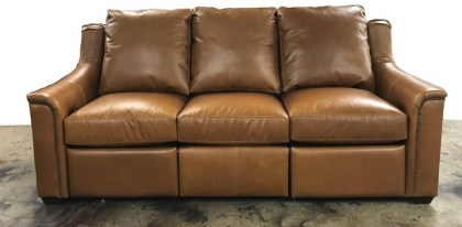 Tarleton Leather Power Reclining Sofa