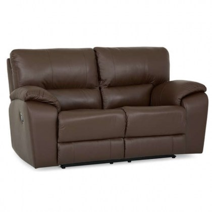 Shields Leather Reclining Loveseat