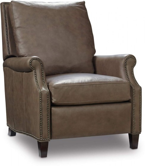 In Stock Leather Recliner